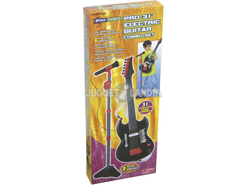 Chitarra elettrica 78 cm con microfono