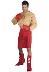 Disfraz Boxeador musculos Hombre Talla XL