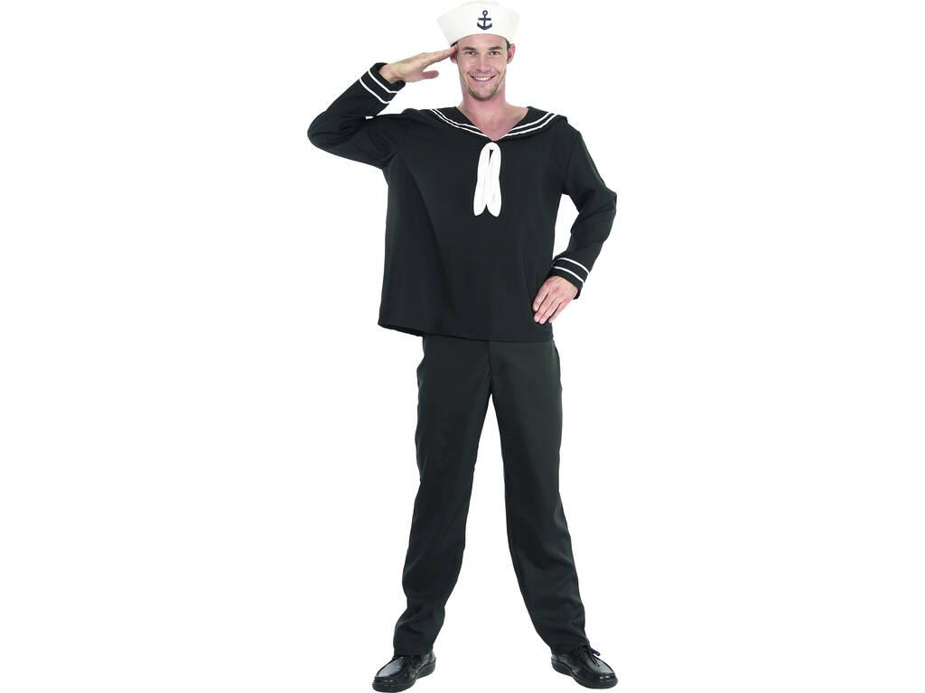 Fantasia Marinheiro Homem Tamanho XL