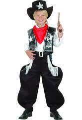 Déguisement de Cow boy de rodéo pour garçon taille L