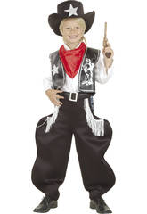 Disfraz Vaquero Rodeo Niño Talla XL
