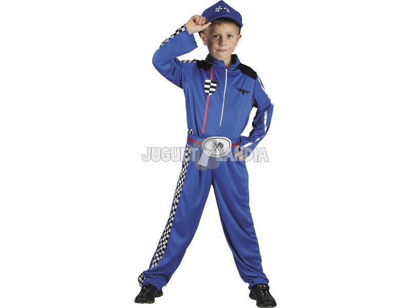 Déguisement Pilote de Voiture Enfant Taille M