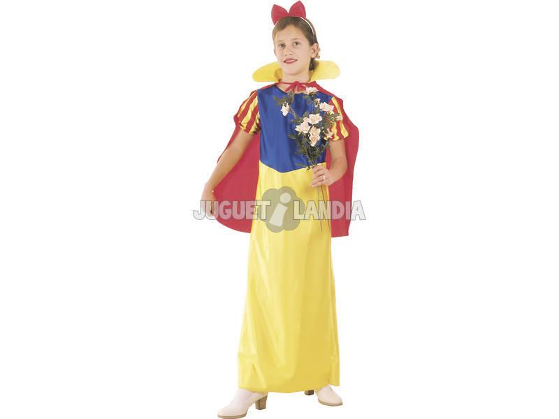 Disfraz Princesa de las nieves Capa Niña Talla XL