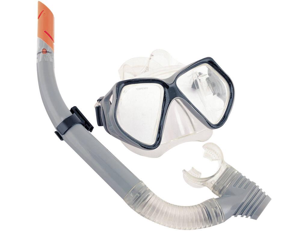 Gafas Natación Submarina Con Tubo Bestway 24003