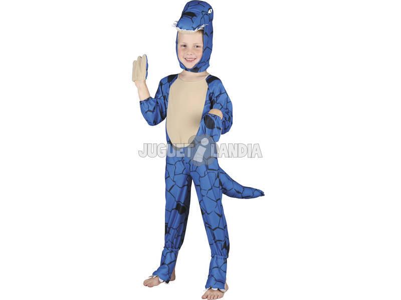 Déguisement Dinosaure Bleu Bébé Taille S