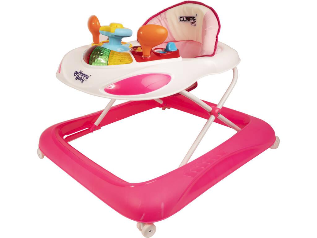 Cuore Baby Girello Rosa Attività Bebè