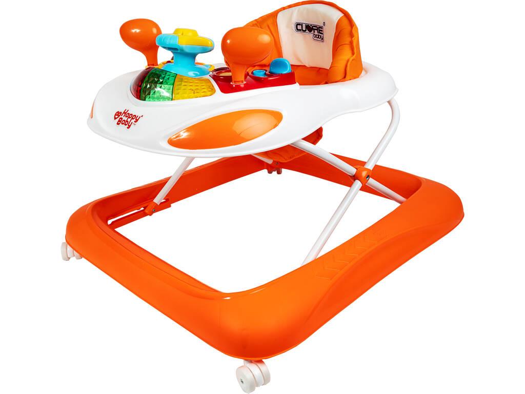 Girello Arancione Attività Bebè