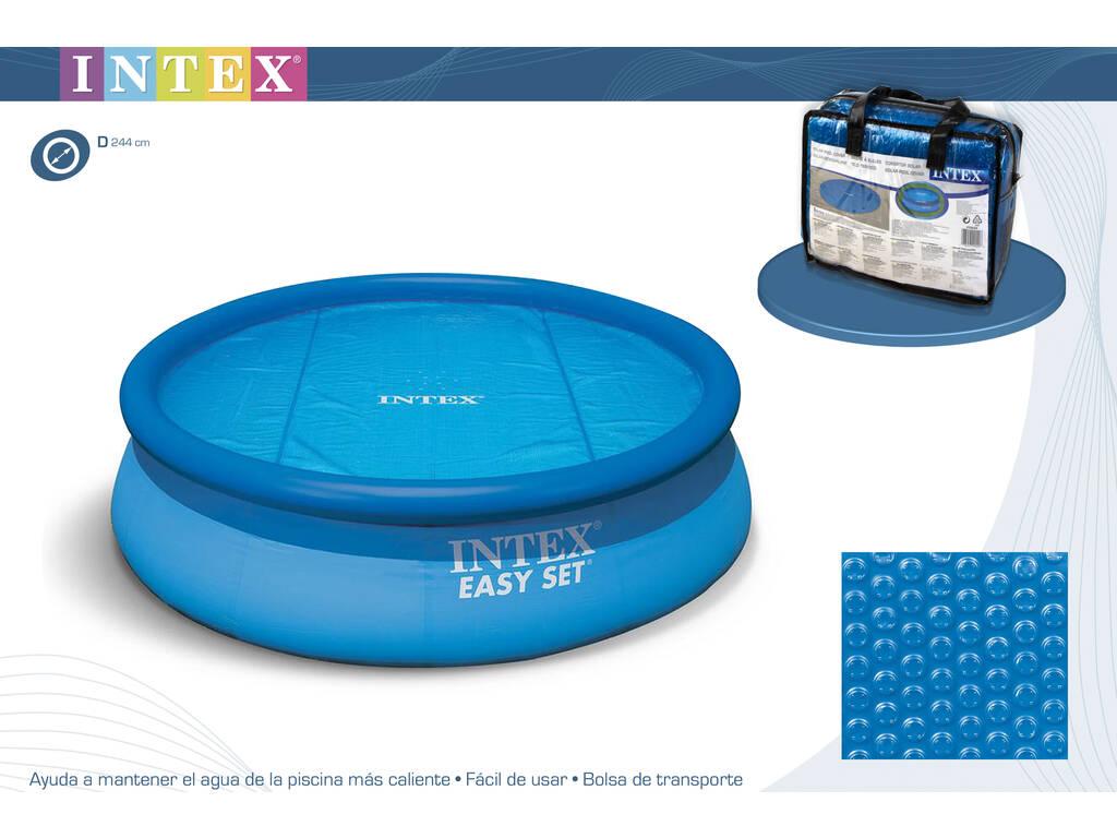 Cubierta solar para piscinas de 244cm intex 29020 for Cubierta piscina intex