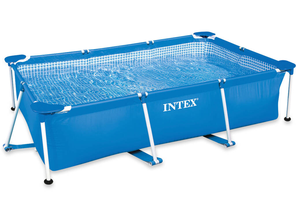 Piscina desmontable 300x200x75 cm intex 28272 juguetilandia for Piscina desmontable rectangular