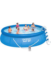 Piscina desmontable 457x107 cm. Intex 28166