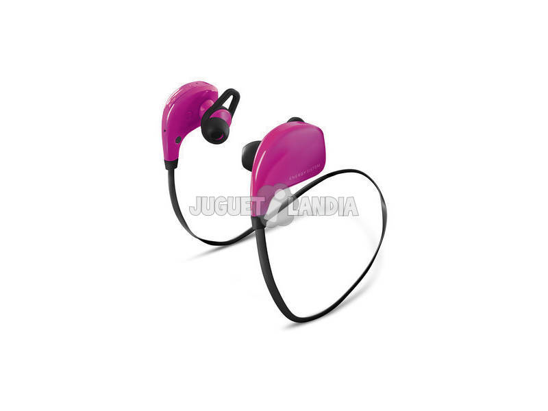 Energy Earphones BT Sport Pink (Bluetooth e micro