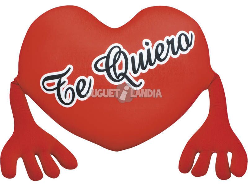 Corazón 45 cm. Te Quiero Brazos