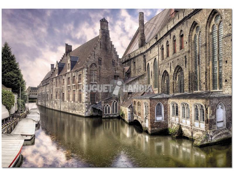 Puzzle 1500 Bruges, Belgique