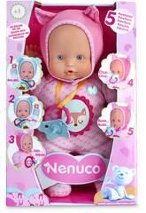 Nenuco Blandito 5 Funciones Rosa 28 cm. Famosa 700014781
