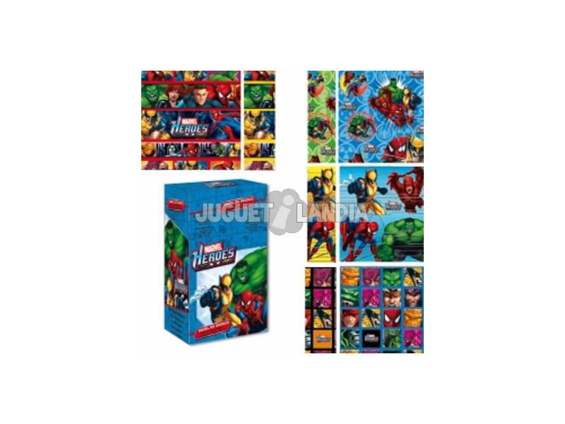 Papel de regalo Marvel 200 x 70 cm.