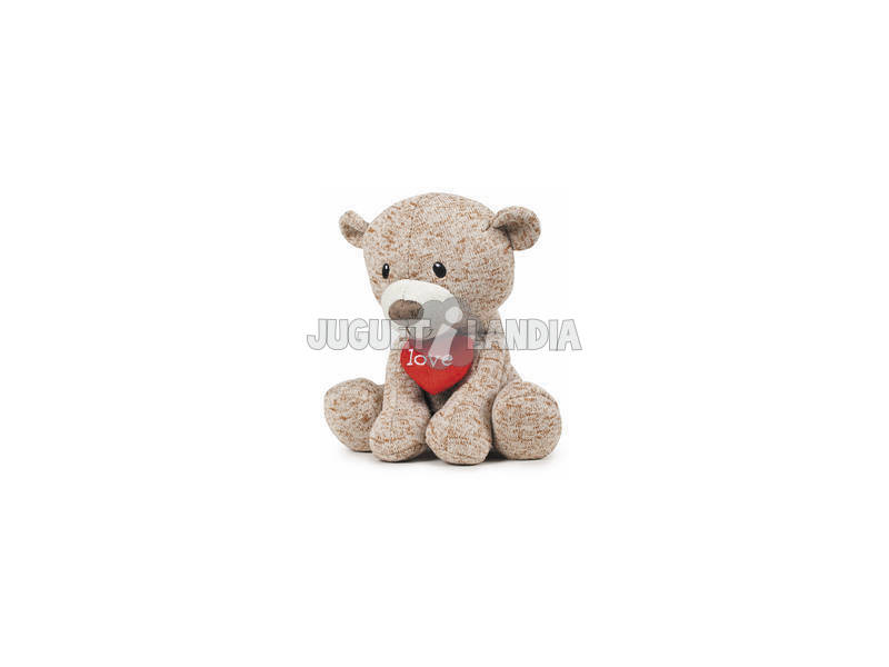 Peluche 15 cm Urso I Love You