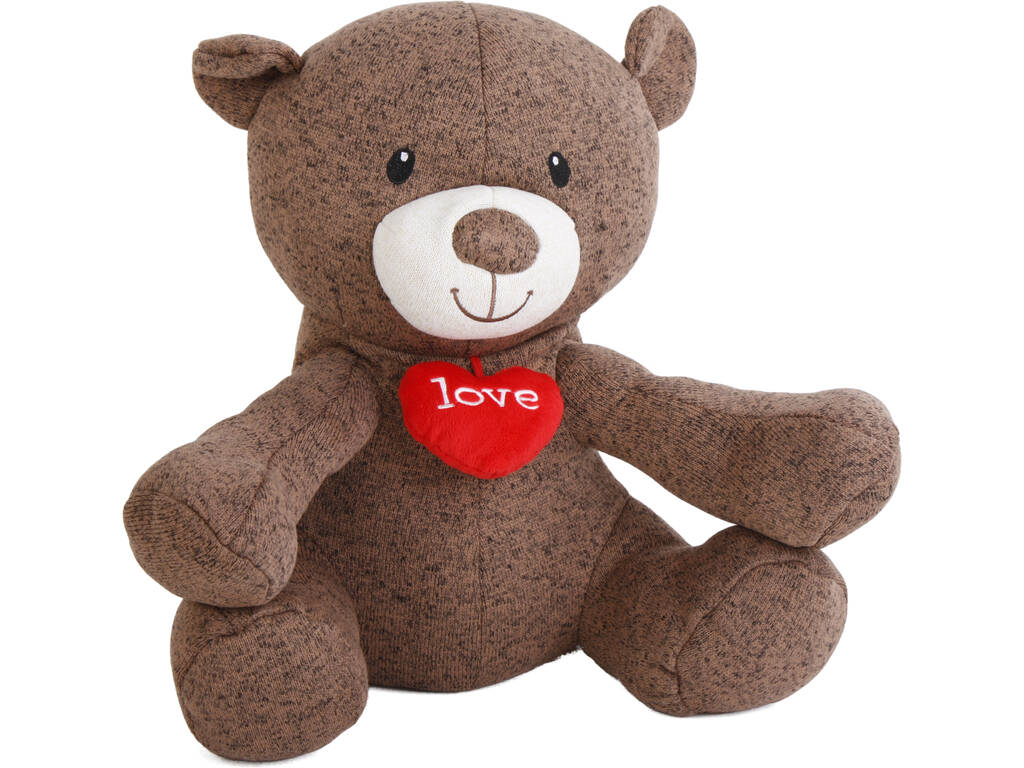 Peluche Oso I Love You 35 cm. Famosa 760013894