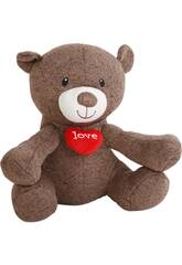Peluche 35 cm Oso I Love You