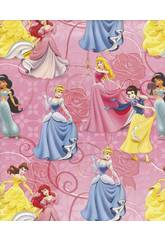 imagen Papel de Regalo Princesas 200 x 70 cm Montichelvo 30458