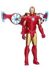 Avengers Titan Héros Avec Véhicule Hasbro B5776EU4