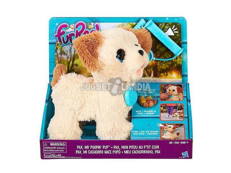 FRR Peluche Pax Poopin Pup Con Sonidos 21x12 cm HASBRO B3527