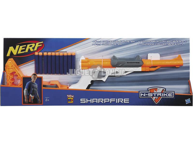 Nerf Nstrike Elite Sharpfire 6 Dardos 5.7x21.6x61 cm HASBRO A9315