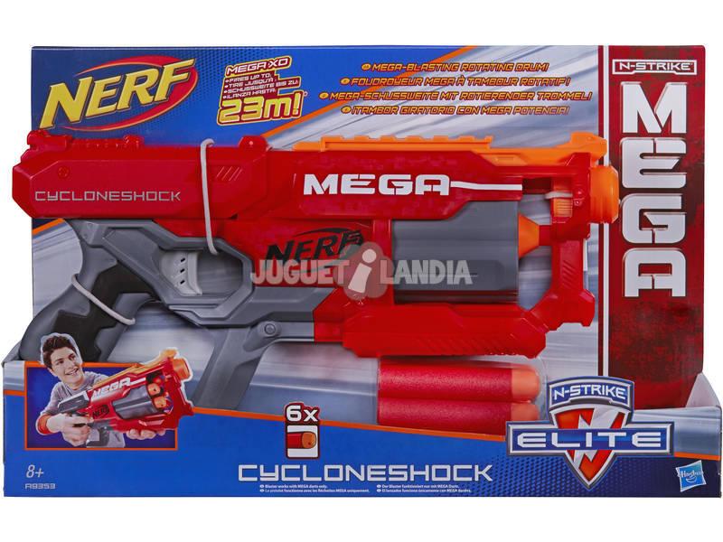 Nerf Mega Cycloneshock 6 Dardos 8.9x25.4x40.6 cm HASBRO A9353