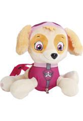 Patrulla Canina Peluche Mochila 33 cm. Skye
