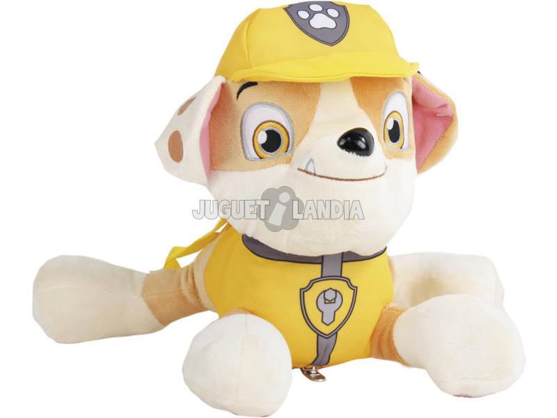Patrulla Canina Peluche Mochila 33 cm. Rubble