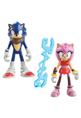 Sonic Figurine Articulée Pack double