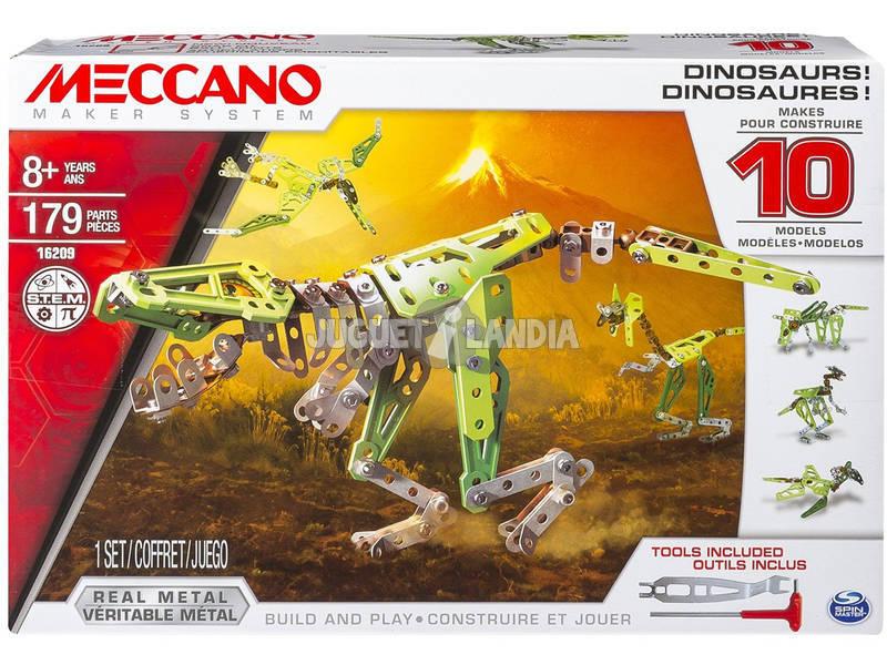 Meccano 10 multimodelli Dinosauro