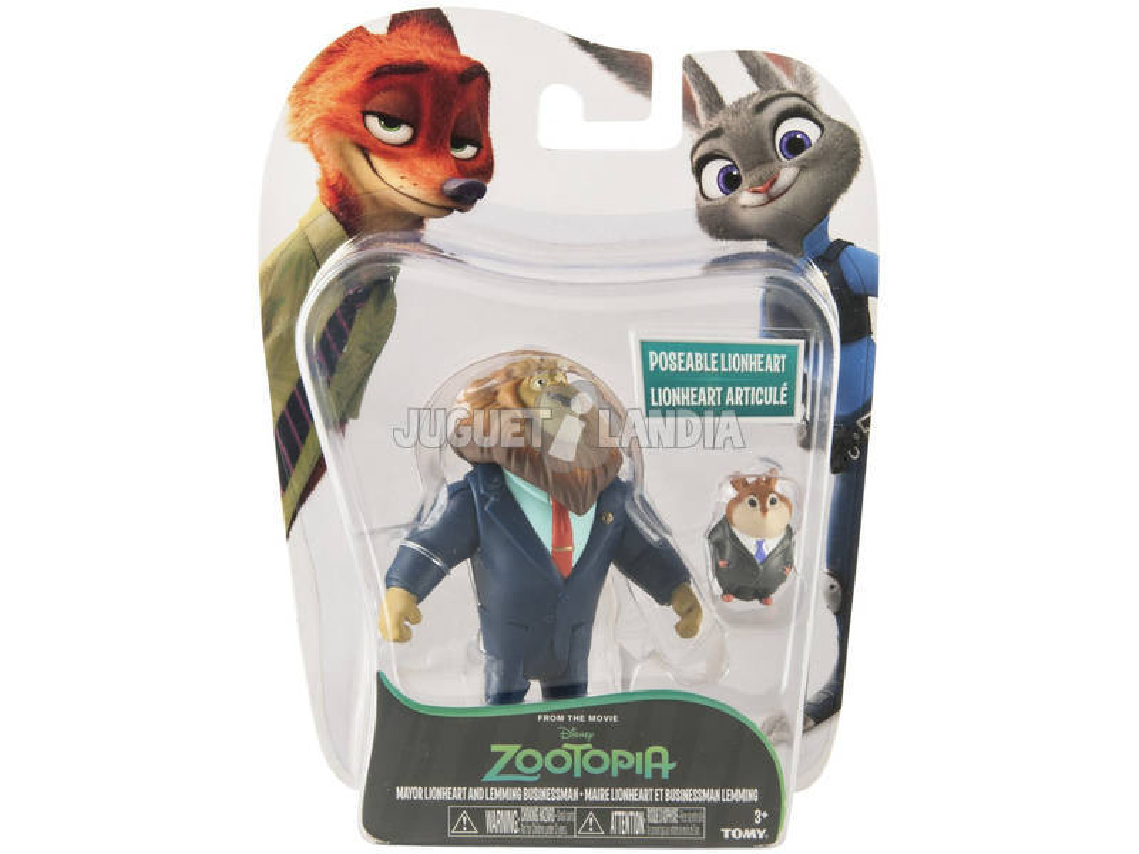 Zootropolis Pack 2 Figuras Bizak 3069 0901