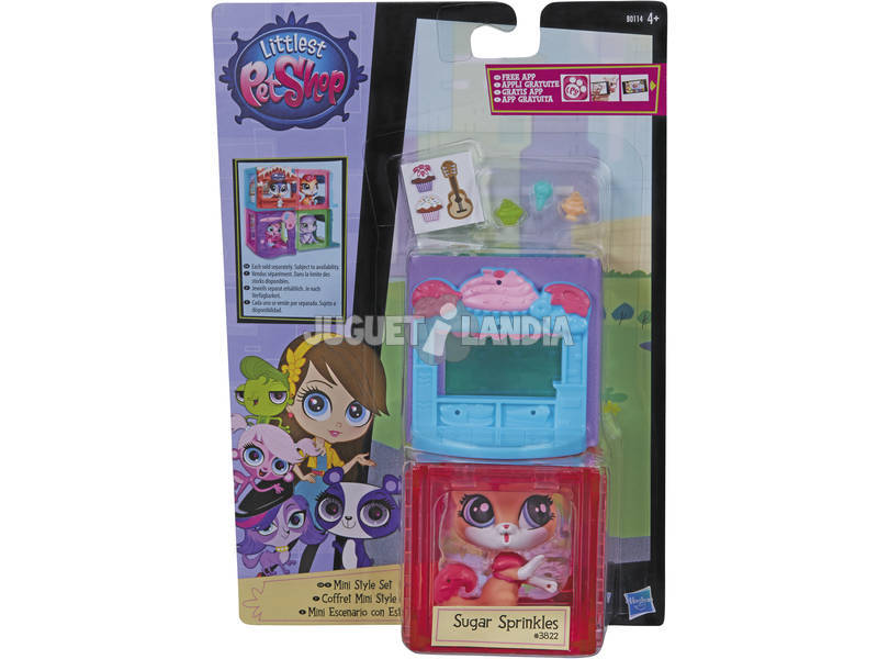 Littlest Pet Shop Mini Playsets Caixinhas