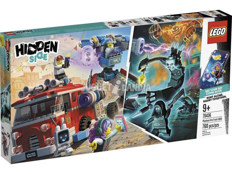 Lego Hidden Camión de Bomberos Fantasma 3000 70436