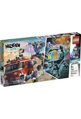 Lego Hidden Camion dei Pompieri Fantasma3000 70436