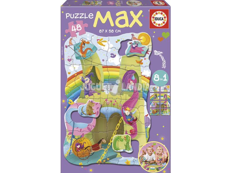 Puzzle 48 Princesas y Caballeros Educa 15902