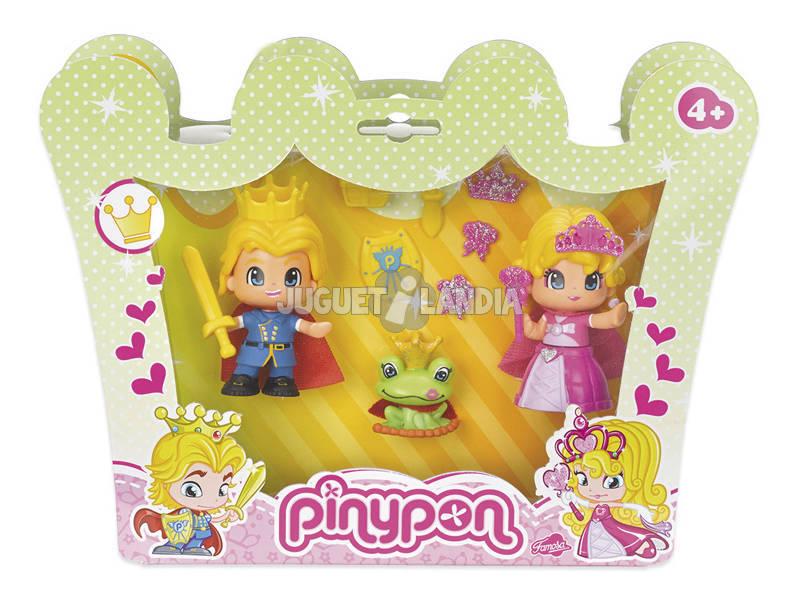 Figuras Pin y Pon Princesa y Principe Con Accesorios Famosa 700011163