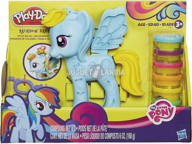 Manualidades Play-Doh Ultimate Rainbow Doh My Little Pony Hasbro B0011