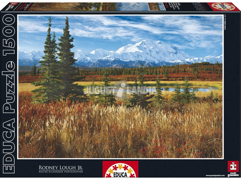 Educa-Puzzle 1500 Denali National Park, Usa