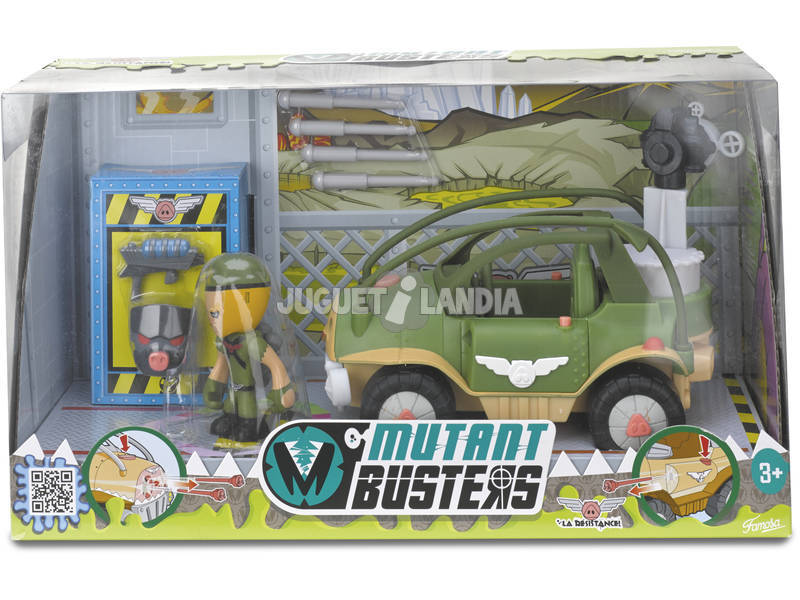 Figuras Mutant Busters Veículos Resistance Sortido Famosa 700011342