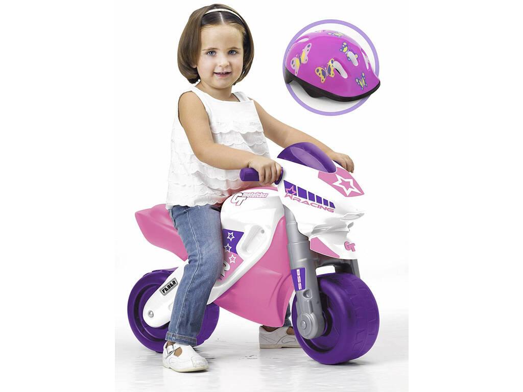 Correpasillos Mfeber Girl 2 Racing con Casco