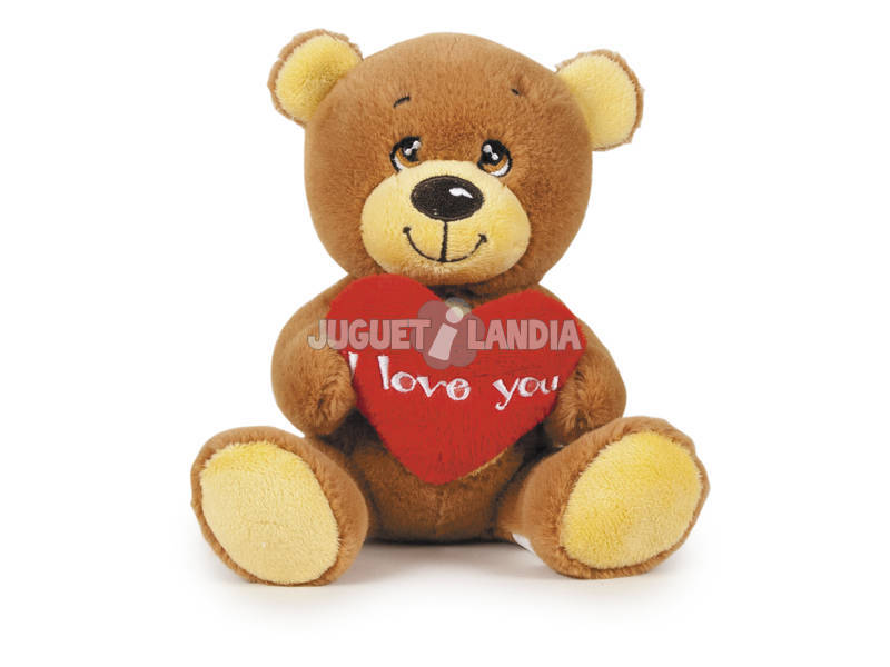 Peluche Petit Ours I Love You 20 cm.