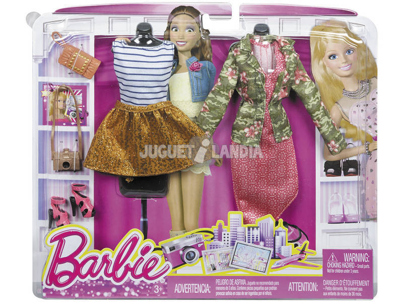 Barbie Vestiti Pack 2 Faion