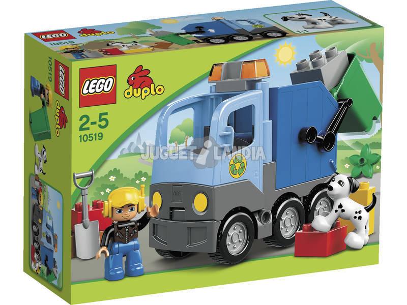 Lego Duplo En la Ciudad Camión De Basura