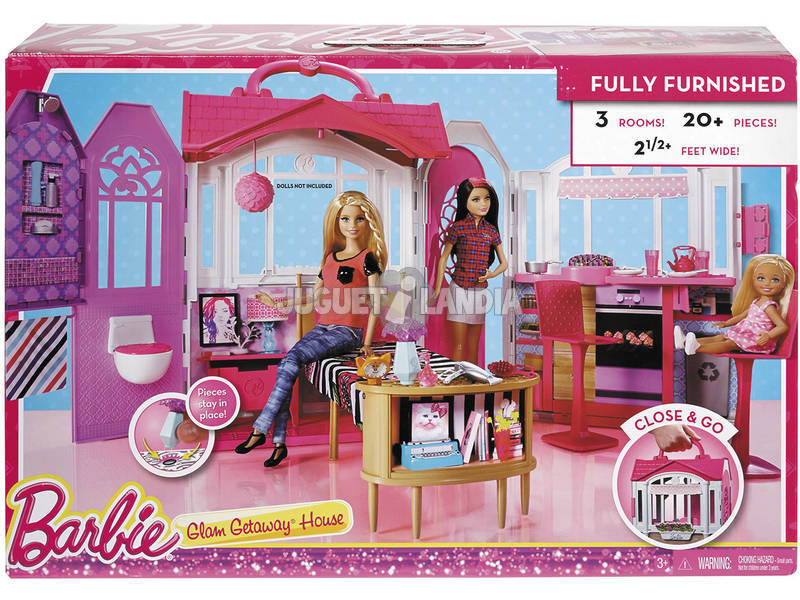 Barbie Maison De Vacances Portable
