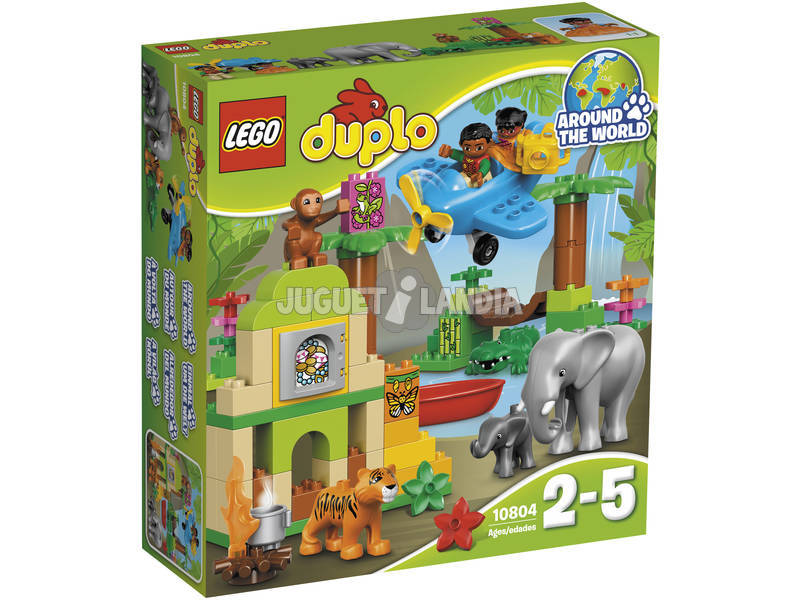 Lego Duplo Around The World, Giungla