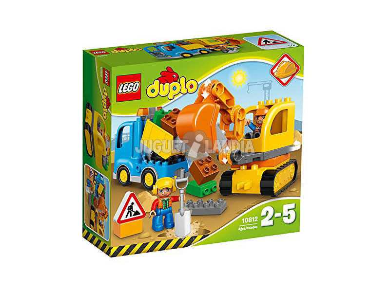 Lego Duplo Town Camion e Scavatrice Cingolata 10812