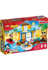 Lego Duplo Casa en la Playa de Mickey 10827