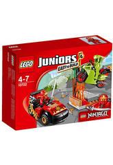 LEGO Juniors L'attaque du serpent NINJAGO