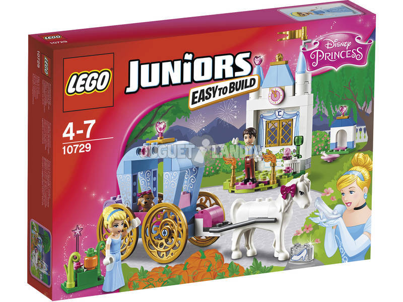 Lego Juniors Carruaje de Cenicienta